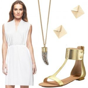 Looks and Combinations to Accessorize a White Dress