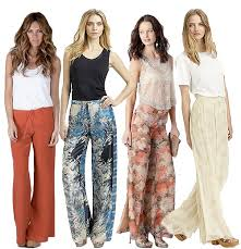 Outfits to Wear with Palazzo Pants